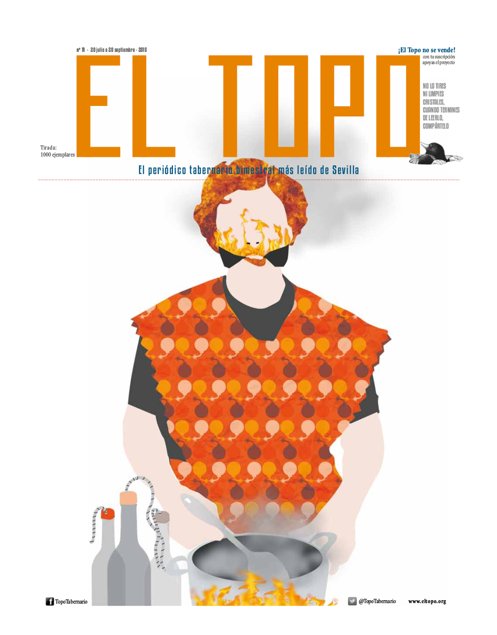 EL TOPO 11 PORTADA