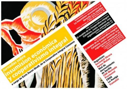 cartel jornadas sevilla - COOPERATIVA INTEGRAL