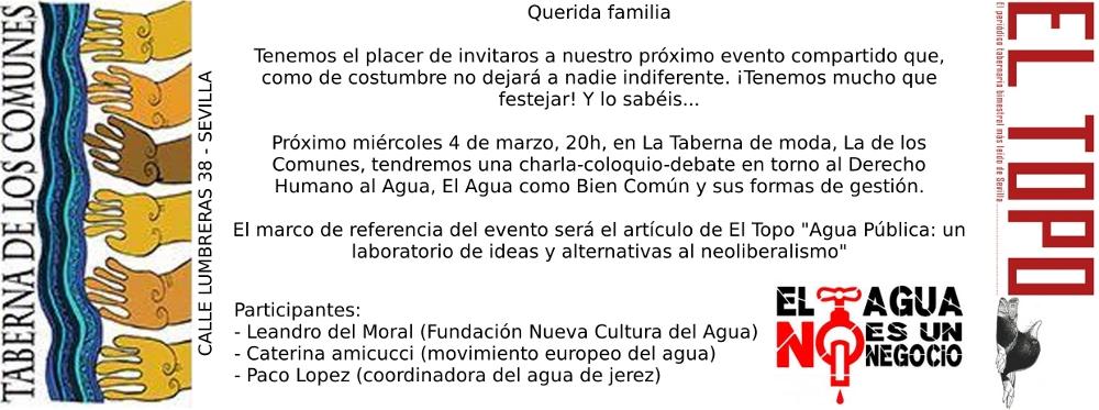 Invitacion Agua Taberna Comunes WEB