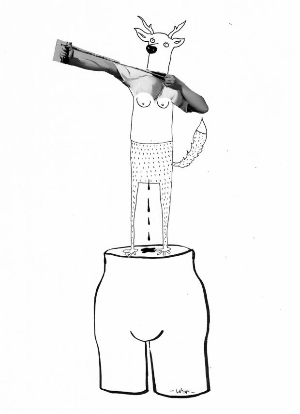 Ilustración de Lusía del Pino